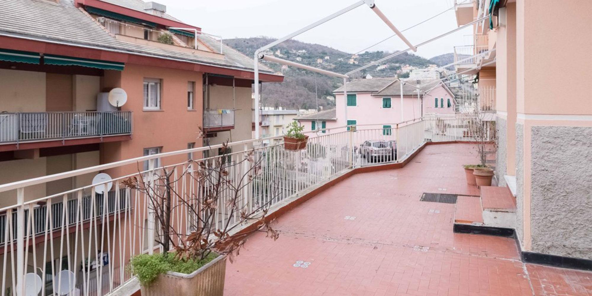 Marassi appartamento (93mq) con terrazzo al piano (80mq)